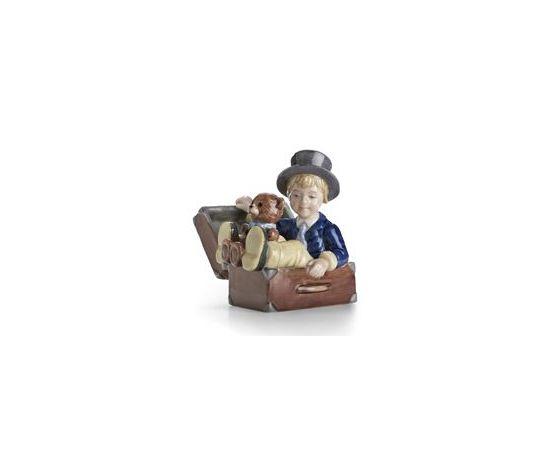 Royal Copenhagen Figurina Il Baule Volante
