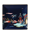 15 cm piattino quadrato blue pagoda wedgwood wonderlust