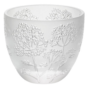 Lalique Tealight Ombelles Clear