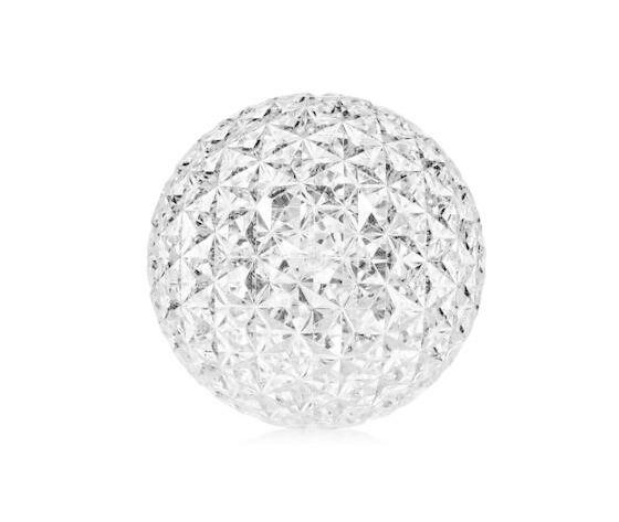 Kartell Planet appoggio Lampada da tavolo / terra cristallo