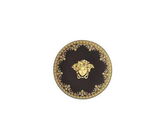 Versace piattino 10 cm I love Baroque Nero