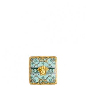 """Versace coppetta quadrata """" La Scala del Palazzo Verde"""" 12 cm"""