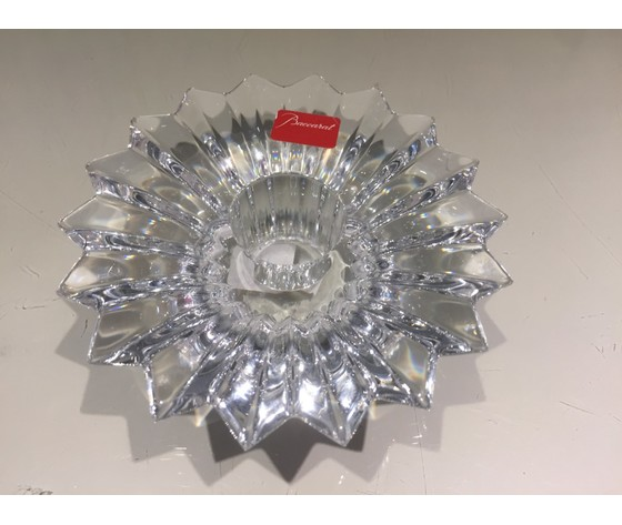 Baccarat porta candela 'Balon' in cristallo