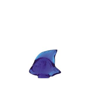 Lalique scultura di Pesce Blu cap ferrat