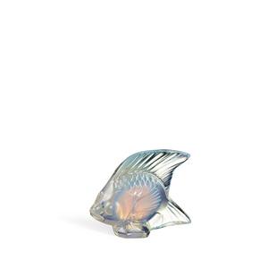 Lallique Scultura di Pesce Opale Lucido