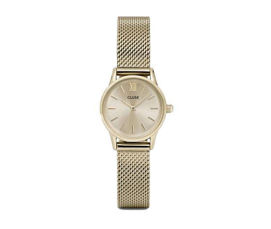 Cluse orologio La Vedette Mesh gold