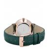 Cluse watch minuit rose gold champagne emerald lizard cl30052 4 600