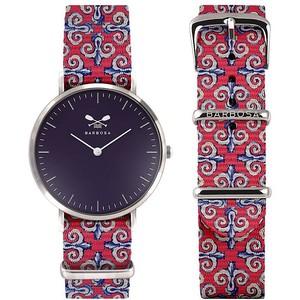 Barbosa orologio nero con cinturino Maioliche