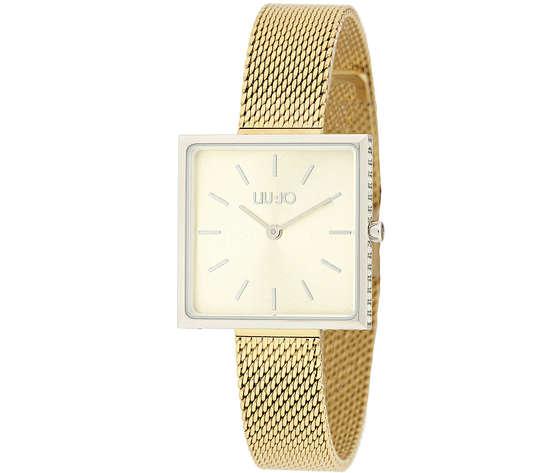 Liu-Jo Glamour Square orologio per donna Oro