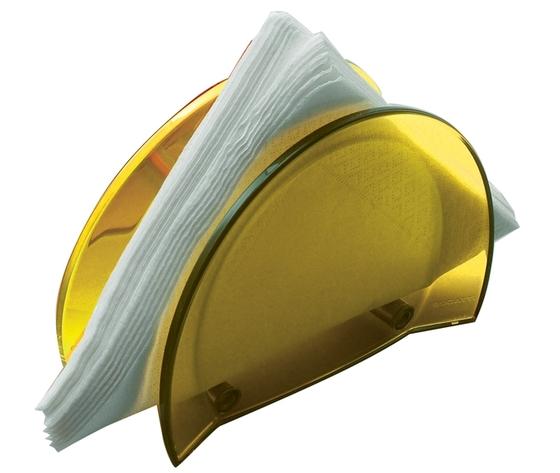 Bugatti Glamour porta tovaglioli giallo
