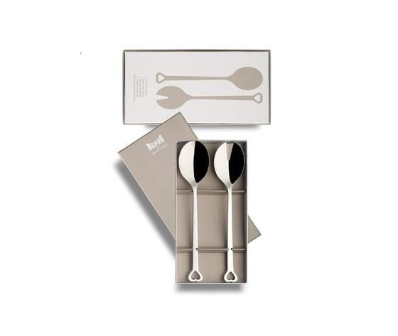Mepra servizio per insalata da 2 pezzi in acciaio inossidabile