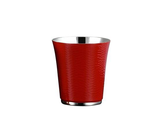 Zanetto Bicchiere Capri in lega d'argento e smalto colorato
