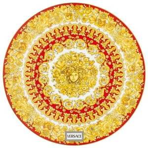 Versace segnaposto Medusa Rhapsody Red 33 cm