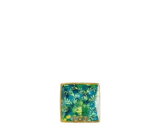 Versace Jungle Coppetta quadrata piana 12 cm