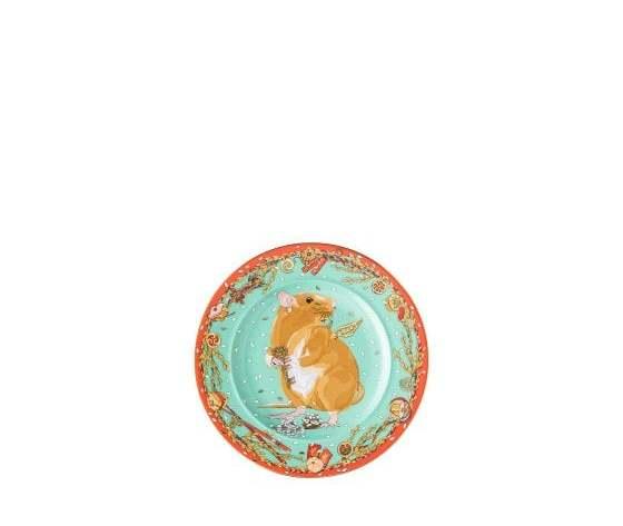 Versace piatto parete 18 cm Zodiaco 2020 'Anno del topo'