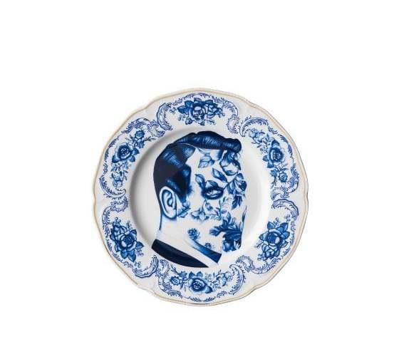 """Rosenthal piatto piano """"Cilla Marea"""" Pattern 6 26 cm"""
