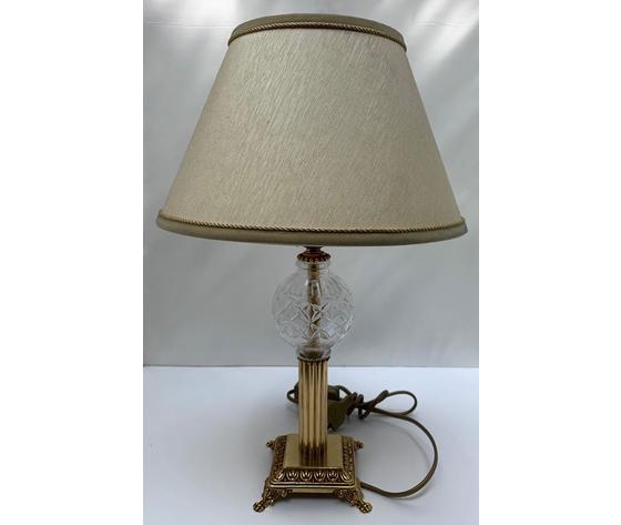 PUNTO ARTE COPPIA LAMPADE IN OTTONE 32,5 CM