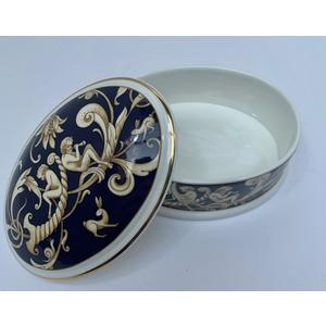 Wedgwood scatola ovale Cornucopia 10,5 cm