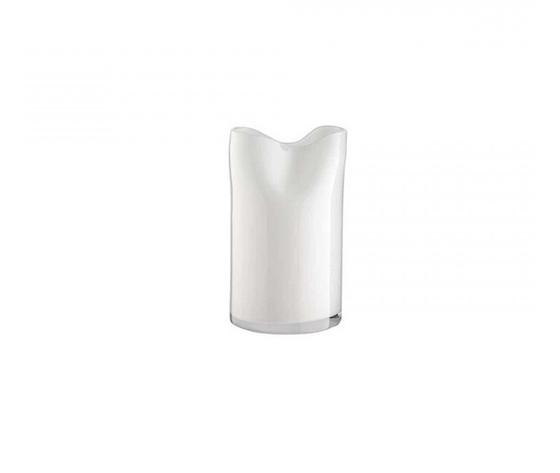Onlylux Vaso crash opale 35 cm Bianco