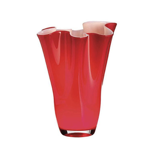 Onlylux Vaso Wave opale 40 cm rosso