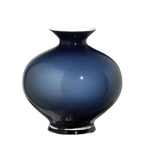 Vaso Aurora opale orino blu 30 cm