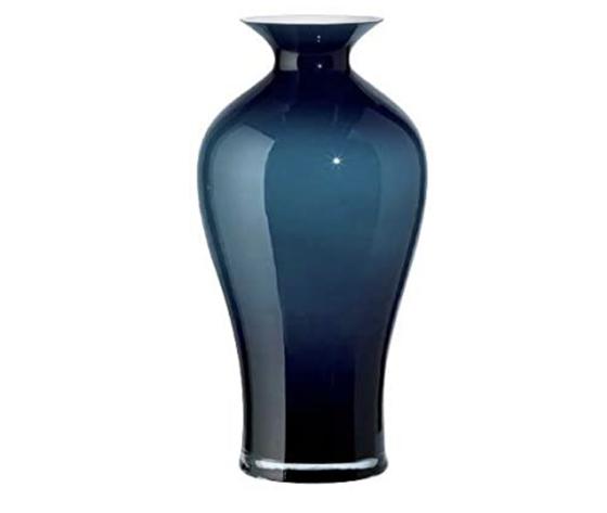 Onlylux Vaso Aurora orion blu trasparente 42 cm