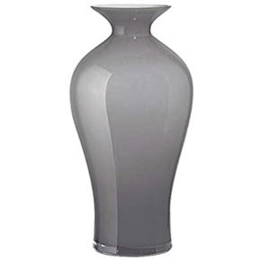 Vaso Aurora opale 42 cm grigio