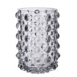 Onlylux Vaso pois trasparente 31 cm