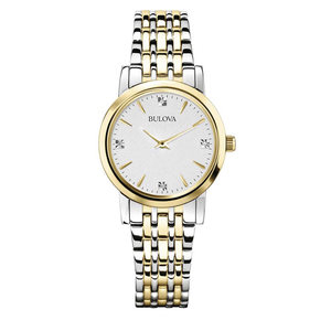 Bulova orologio 98P115 Diamonds per donna