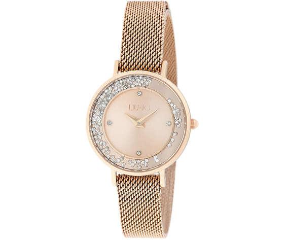 Liu-Jo orologio TLJ1693 Mini Dancing Silm Gold/rose per donna