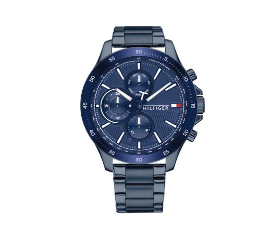 Tommy Hilfiger orologio Bank Blu Navy BRC Blu