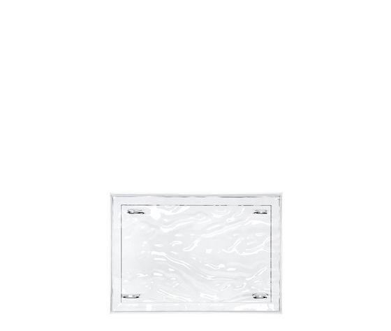 Kartell Vassoio dune 46 x 32 cm cristallo