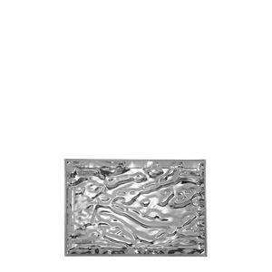 kartell vassoio dune 46 x 32 cm cromato