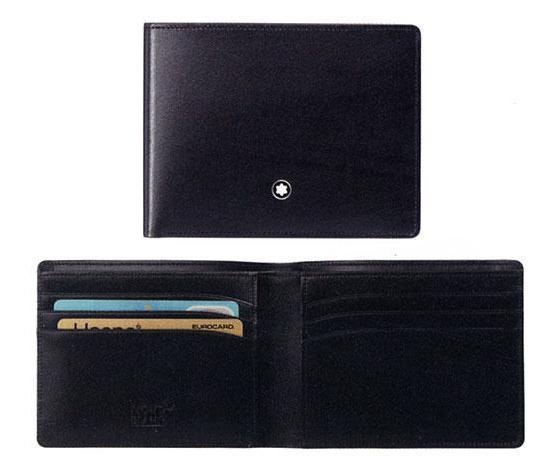 Montblanc portafoglio Meisterstuck 6 scomparti