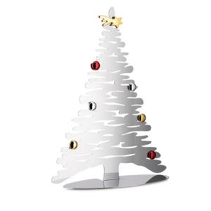 Alessi Albero Bark for Christmas ACCIAIO