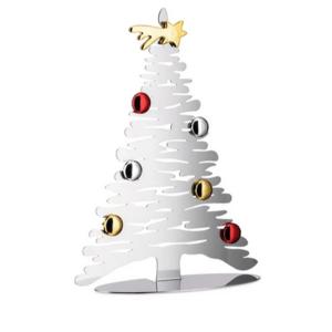 Alessi Albero Bark for Christmas 30 cm acciaio
