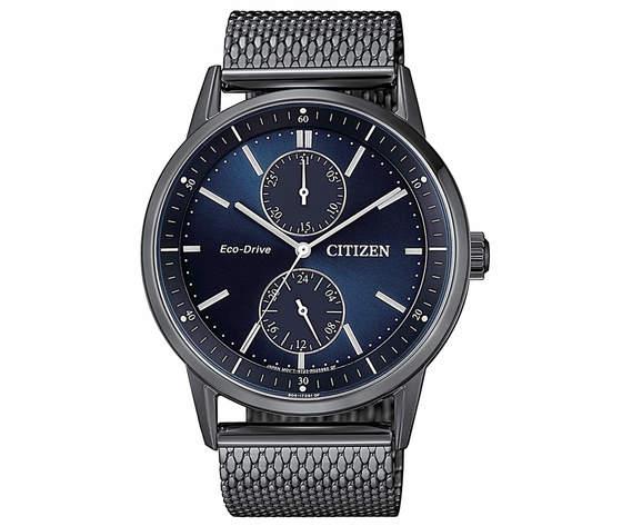 Citizen orologio eco drive multifunzione BU3027-83L per uomo