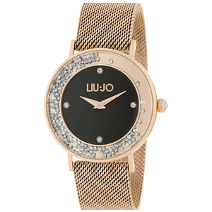 Liu jo Tlj1349 orologio dancing slim Gold rose nero