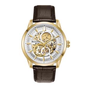 Bulova 97A138 Sutton Scheleton Automatic orologio per uomo