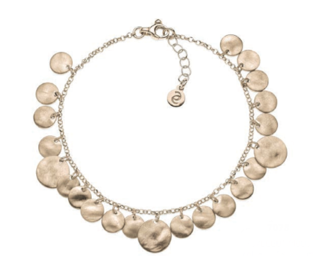 Eclat linea Flashes bracciale ice-gold in argento 925