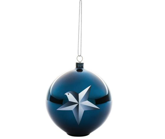 Alessi Blue Christmas Decorazione per Albero di Natale AAA071