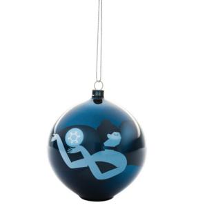 Alessi Blue Christmas Decorazione per Albero di Natale AAA076
