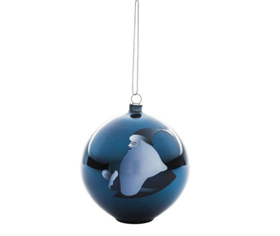 Alessi Blue Christmas Decorazione per Albero di Natale AAA074