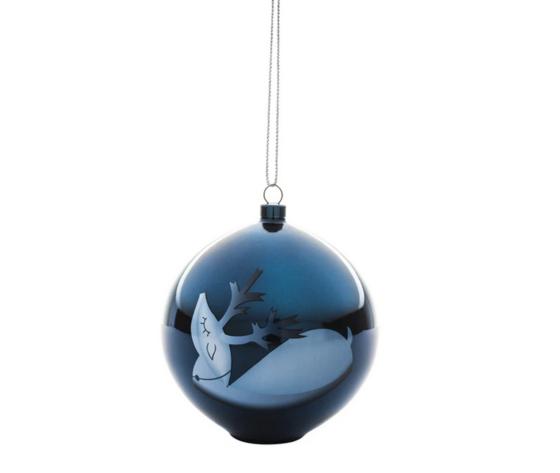 Alessi Blue Christmas Decorazione per Albero di Natale AAA073