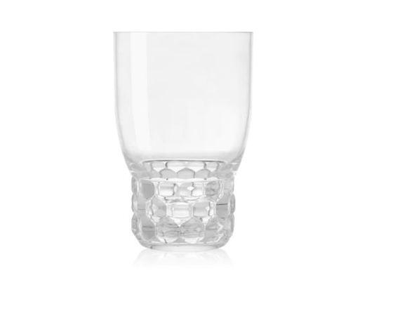 Kartell bicchiere jellies family cristallo
