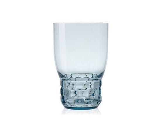 kartell bicchiere jellies family azzurro set da 4 pezzi