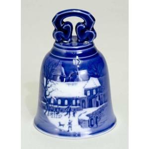 "Royal Copenhagen ""Christmas Bell"" / Campana 1995"
