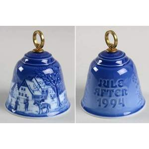 """Royal Copenhagen / Bing & Grondahl """"Christmas Bell"""" 1994"""