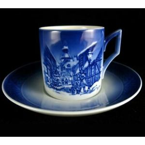 Royal Copenhagen Christmas Cup Saucer / Tazza con piattino 1996