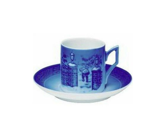 Royal Copenhagen Christmas Cup Saucer / Tazza con piattino 2003